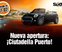 Sixt continúa su expansión con una nueva oficina en Menorca