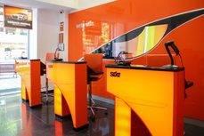 La nueva oficina de Sixt en Sevilla.