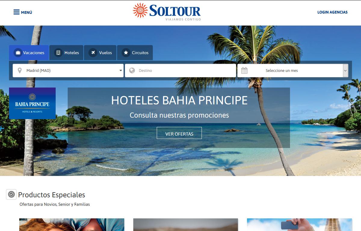 La facturación de Soltour se dispara un 20% en dos años