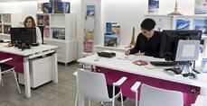 En las agencias de viajes hubo un incremento de 1.654 trabajadores.