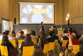 La intervención de Claudia van't Hullenaar en el encuentro Meet the Expert.