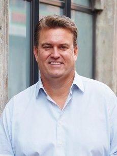 El vicepresidente sénior y director ejecutivo de CWT Meetings & Events, Derek Sharp.