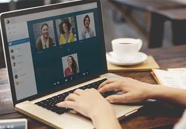 Las reuniones virtuales crecen por el coronavirus