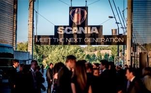 Staff organiza la presentación de los nuevos Scania