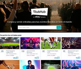 Crecen un 31% las transacciones para eventos en España en StubHub