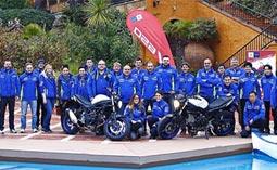Lloret acoge la presentación de una moto de Suzuki