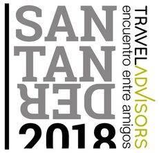 El logo del evento de Santander.