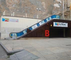 El Palacio de Congresos de Tarragona renueva su imagen exterior