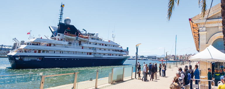 Tarragona, a punto de cerrar una buena temporada de cruceros