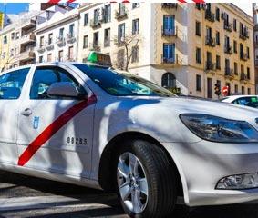 Los taxis madrileños reciben el sello 'Garantía Madrid'