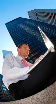 La productividad del viajero de negocios y la tecnología
