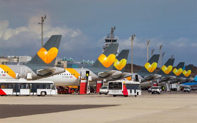 Thomas Cook: Canarias recupera el 91% de plazas aéreas