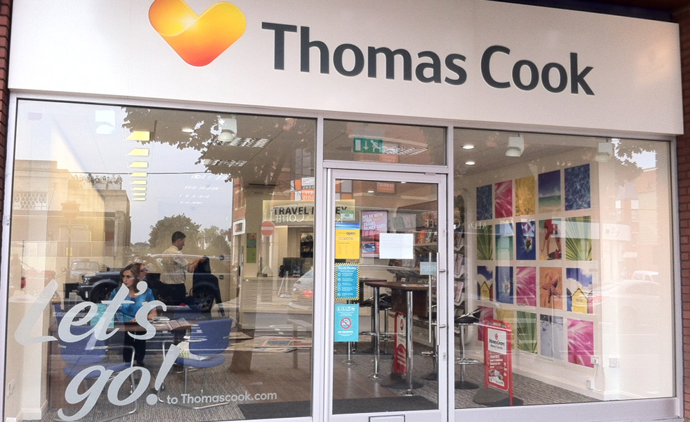 Thomas Cook reestructura su red en Reino Unido