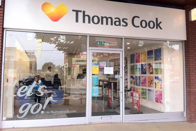 Thomas Cook cierra 21 de sus cerca de 600 tiendas