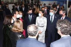 La Reina Letizia inauguró el evento.