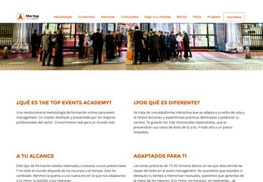 Formación 'online' para ser 'event manager senior'