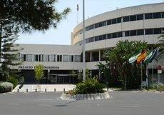 El Palacio de Congresos.