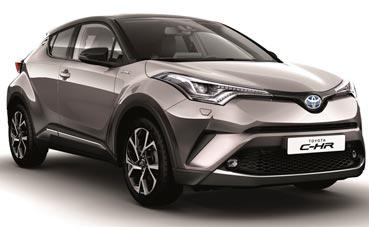 Goldcar contará con el nuevo híbrido Toyota C-HR