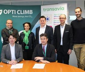 Transavia reducirá su huella de carbono en 2018