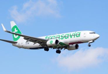 Transavia lanza rutas entre España y Francia para verano