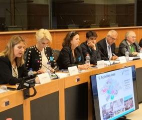 Transfiere 2020 se presenta en el Parlamento Europeo
