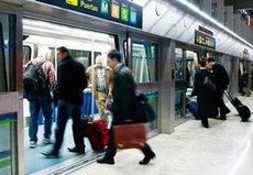 Fuerte desplome del transporte de viajeros en mayo