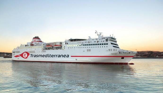 Trasmediterranea estrena imagen corporativa
