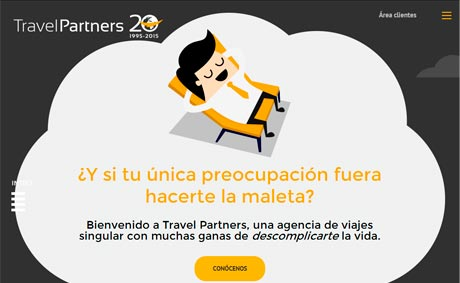 Travel Partners renueva su 'web' con una imagen actual