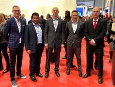 Desde la izquierda: Ole Fisker, Víctor Sánchez, Ricard Cerdà, Jose Díaz y Bruno Träthaug.