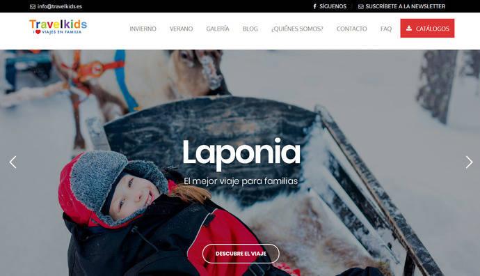 El turoperador Travelkids rediseña su página web