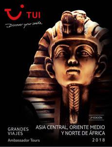 Segunda edición del catálogo Asia Central, Oriente Medio y Norte de África.