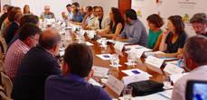 Primera reunión de la Comisión de Impulso del Turismo Sostenible.