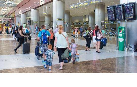 Se prevé un notable descenso de los ingresos de turistas foráneos
