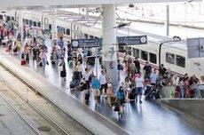 España está a la cabeza de reservas de tren por móvil