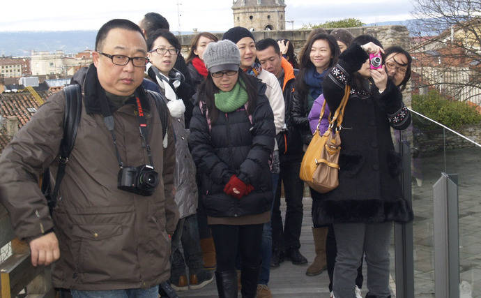 España capta únicamente el 4% de los turistas chinos que visitan Europa