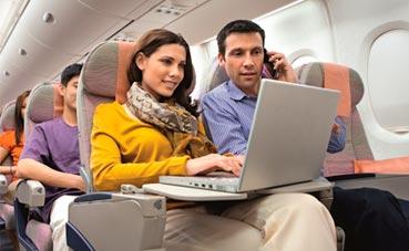 Turkish Airlines lanza su servicio de portátiles a bordo