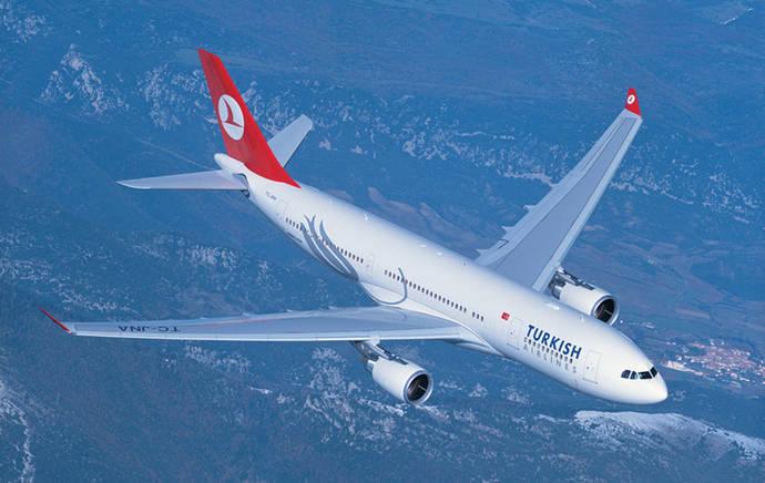 Turkish logra un beneficio récord de 985 millones
