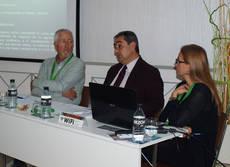 El director general de Aconfisa, Javier Pascual, interviene en el foro.