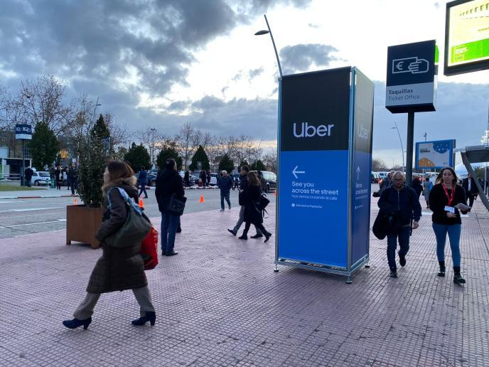 Uber cuenta con un punto de recogida en Ifema Madrid