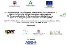 La UCO convoca un encuentro profesional sobre el turismo congresual ante la perspectiva del virus