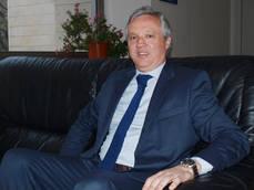El presidente de UNAV, Carlos Garrido.