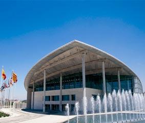 El Palacio de Congresos de Valencia se muestra solidario
