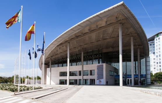 Valencia celebra el vigésimo aniversario del Palacio de Congresos con gran impacto