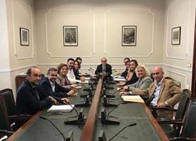 La reunión del Consejo de Administración del Palacio de Congresos de Valencia.