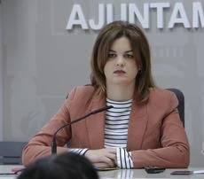 La primera teniente alcalde del Ayuntamiento de Valencia, Sandra Gómez.