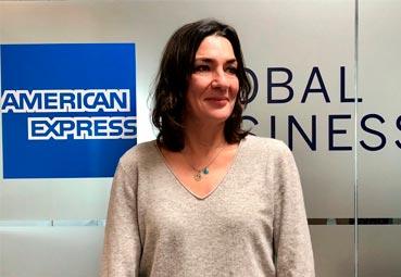 Valeria Juste, directora de eventos de Amex GBT