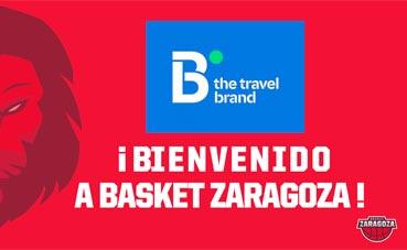 B the travel brand gestionará los viajes del Basket Zaragoza