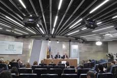 Rueda de prensa posterior al Consejo de Ministros.