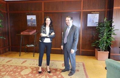 Belén Vallina, nueva gerente del Vigo Convention Bureau