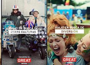 VisitBritain lanza una campaña para inspirar al viajero